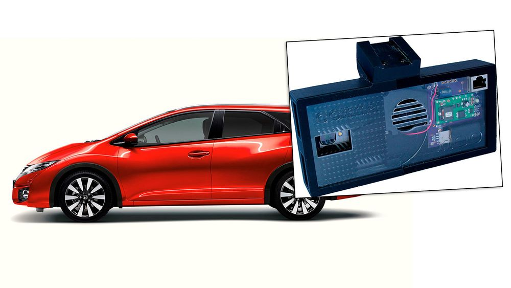 En Honda Civic kan gjøres selvkjørende ved hjelp av fritt tilgjengelige planer og programvare.
