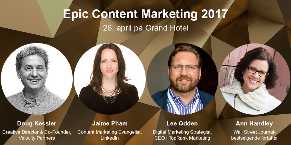 Epic Content Marketing 2017