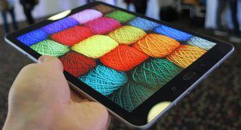 Samsung Galaxy Tab S3 Samsung har skjønt hva de skal fokusere på når 90 prosent av produktet består av en skjerm