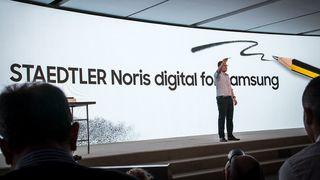 Samsungs store lansering i går var en... blyant!