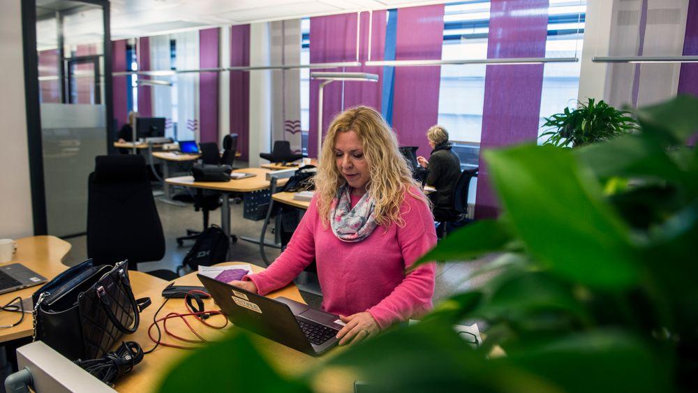 Telenor har fritt setevalg - et viktig prinsipp dersom åpent kontorlandskap skal fungere, ifølge ekspertene.