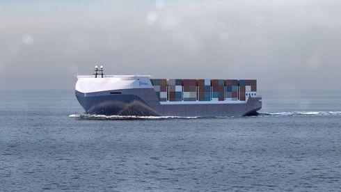 Rolls-Royce vil bygge containerskip etter Lego-prinsippet