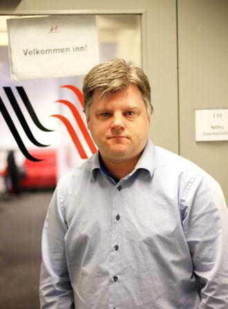 Leder Richard Aune i NRKJ.