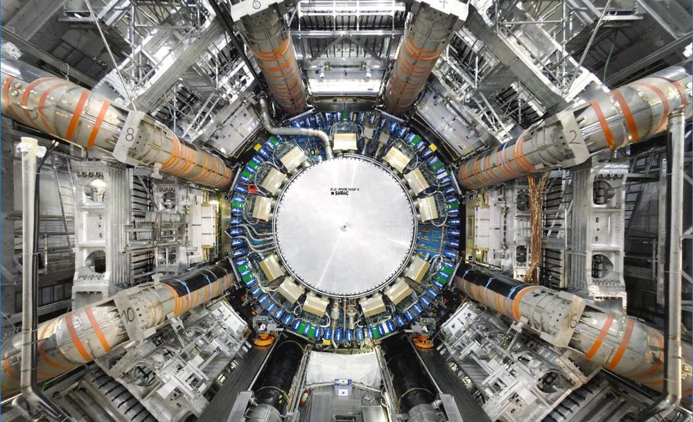 ATLAS er den største detektoren ved LHC, og den største detektoren som noen gang er bygget.