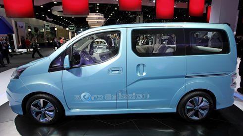 Lanserer Nissans elbil med hydrogen-rekkeviddeforlenger