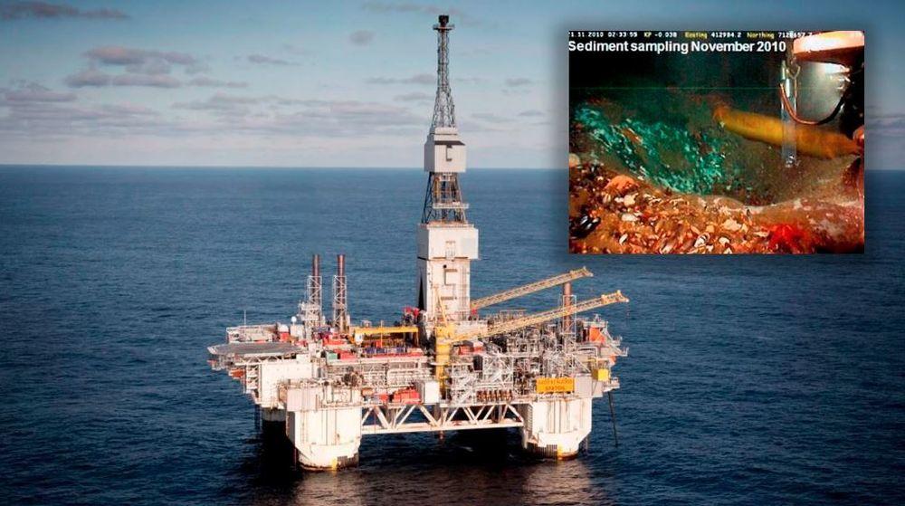 Utslippene fra Statoils Njord-brønn pågikk i mange år. Det førte til digre kraterlignende strukturter på havbunnen. Nå er saken henlagt, etter at politiet glemte å følge den opp.
