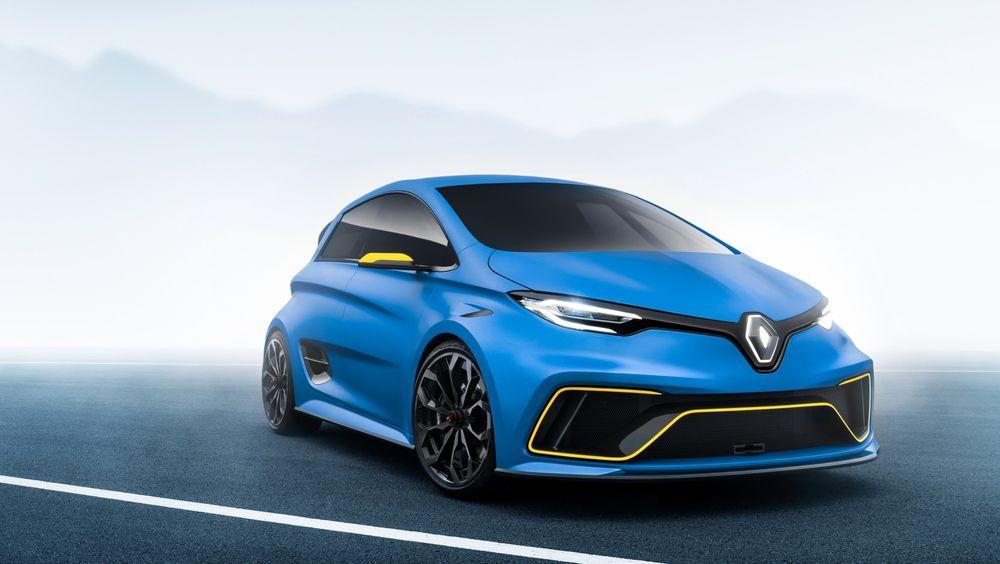 Renaults nye konseptbil basert på Zoe gjør 0-100 kilometer i timen på 3,2 sekunder.