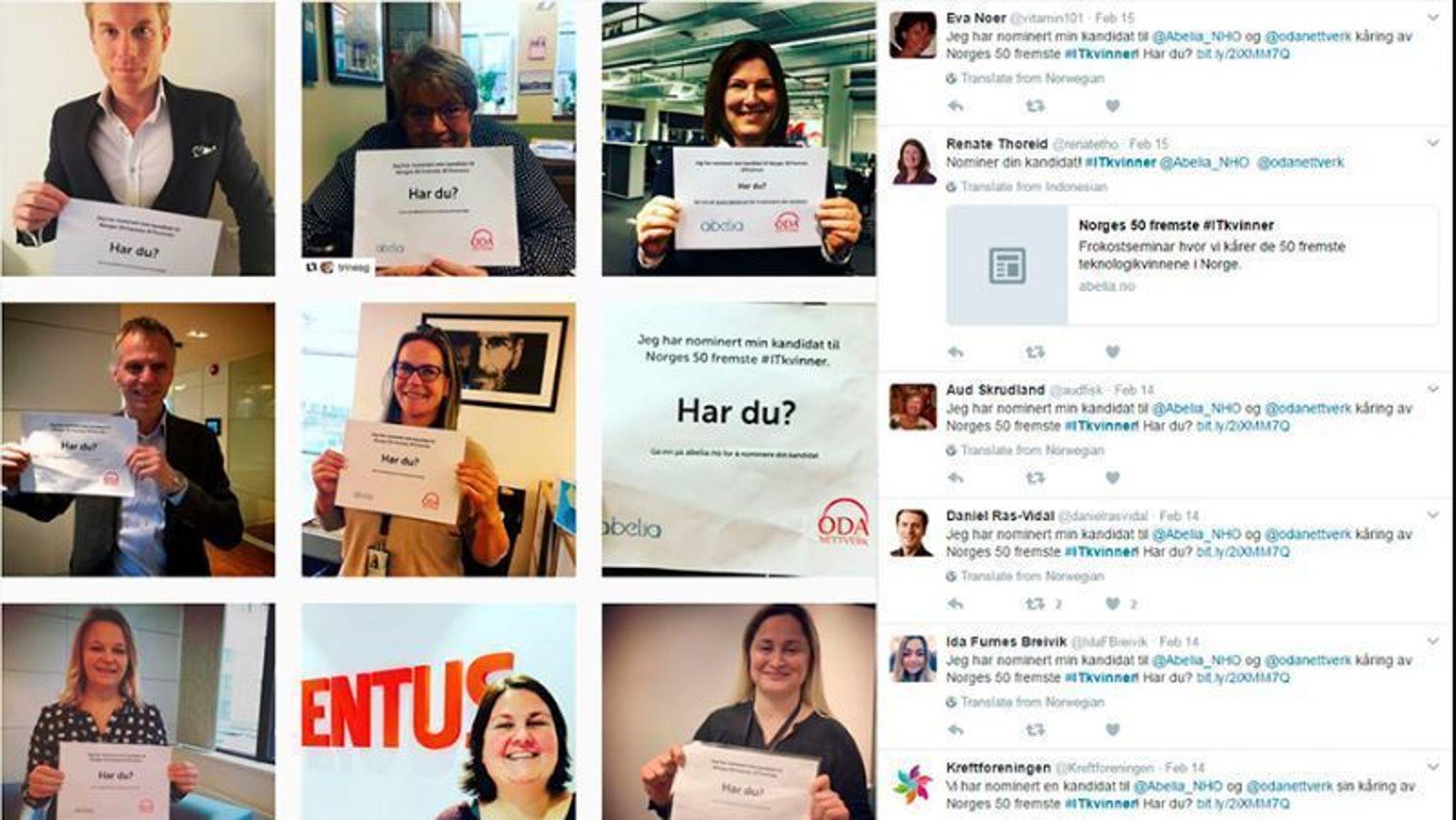 «I dag kåres Norges 50 fremste IT-kvinner. Tullete, mener noen. Viktig, mener vi»