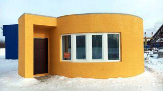 Dette huset ble 3D-skrevet på én dag – og kostet 85 000 kroner