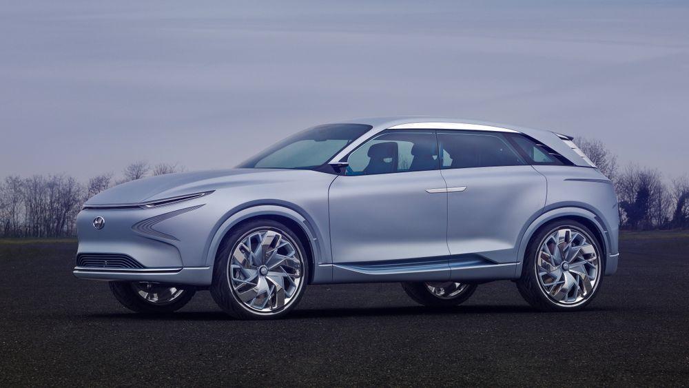 Hyundais hydrogenkonsept skal peke mot en produksjonsmodell som kan være under et år unna.