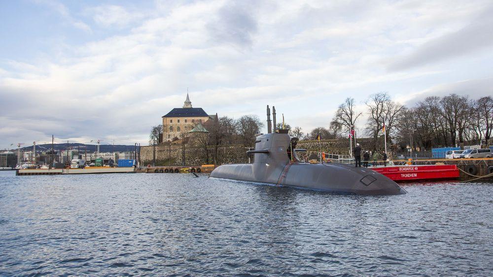 Den tyske ubåten U-36 (S186) tilhørende 212-klassen har vært operativ siden i oktober 2016. Her er den på oslobesøk.