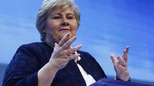 Erna Solberg går inn for «digitalt grenseforsvar»