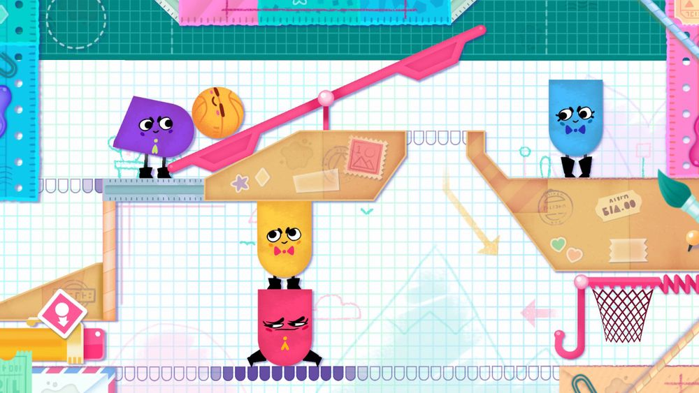 ANMELDELSE: Snipperclips: Cut It Out, Together!