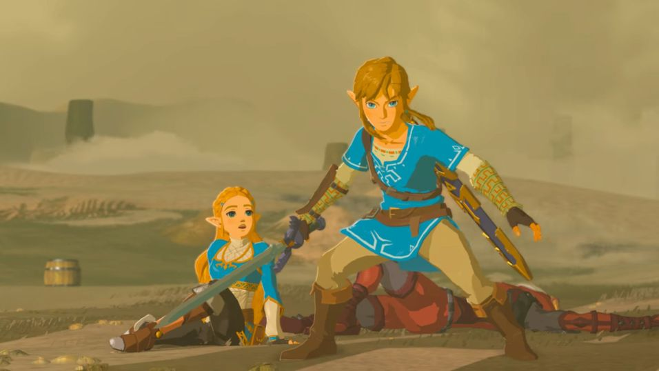 Skjermbilde fra The Legend of Zelda: Breath of the Wild.
