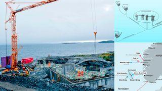 Her bygges anlegget som skal forsyne Johan Sverdrup med strøm fra land