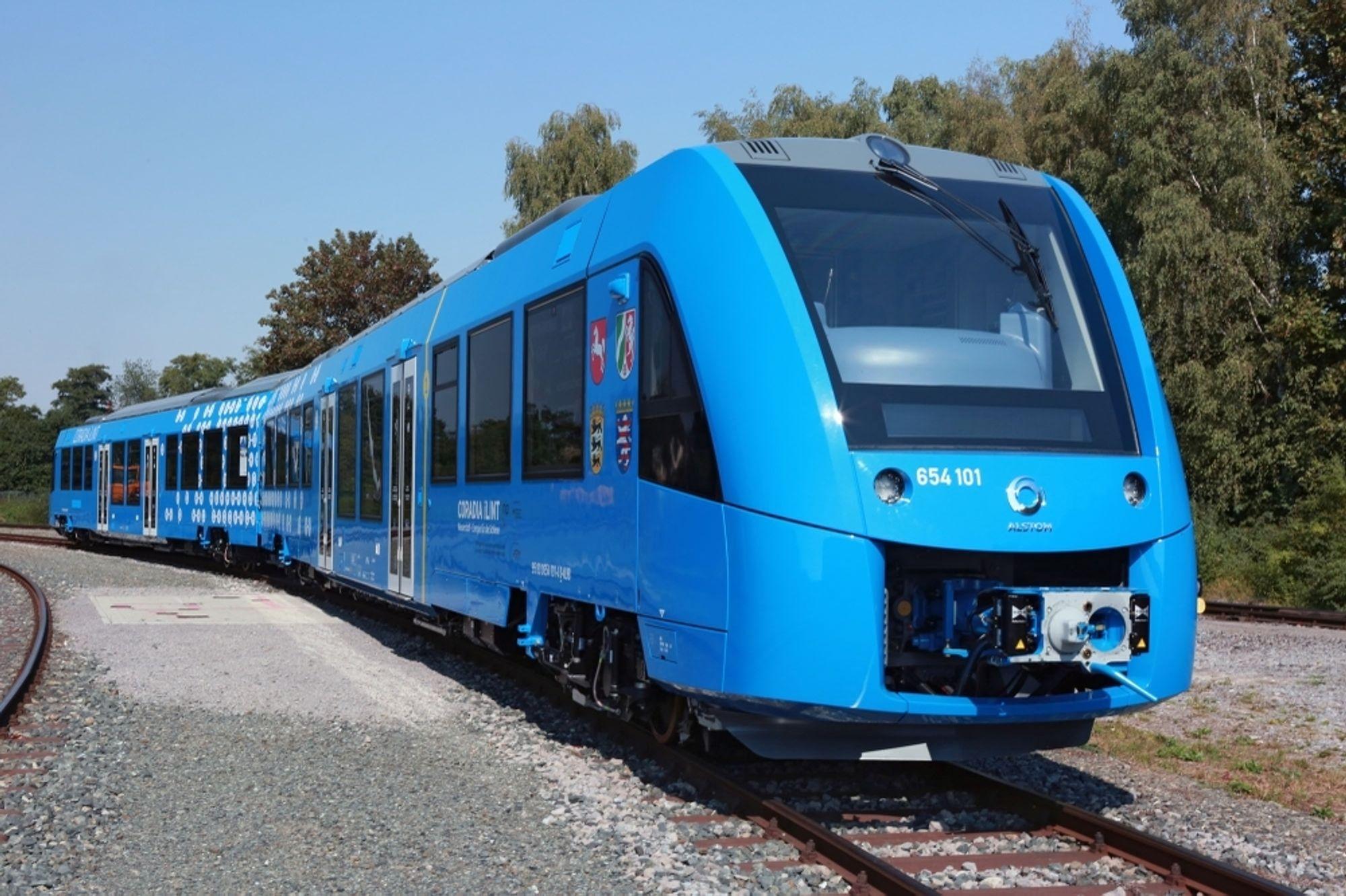 Testing, testing: Coradia iLint prøves ut i Tyskland.