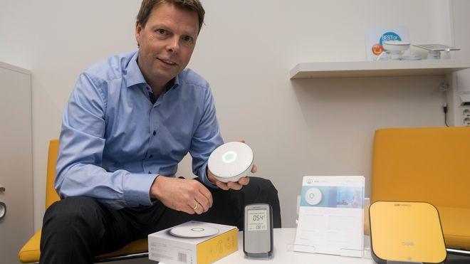Norsk radonmåler slo an i Las Vegas - har fått over 4000 bestillinger