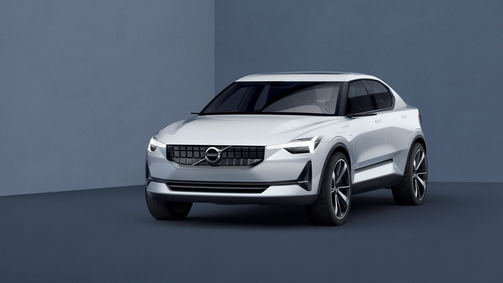 Volvo Concept 40.2 ble vist i 2016. Den kan vise seg å bli den neste elbilen fra svenskene.
