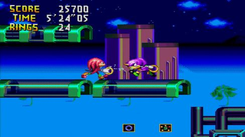 Knuckle's Chaotix.