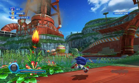 Sonic Colors.