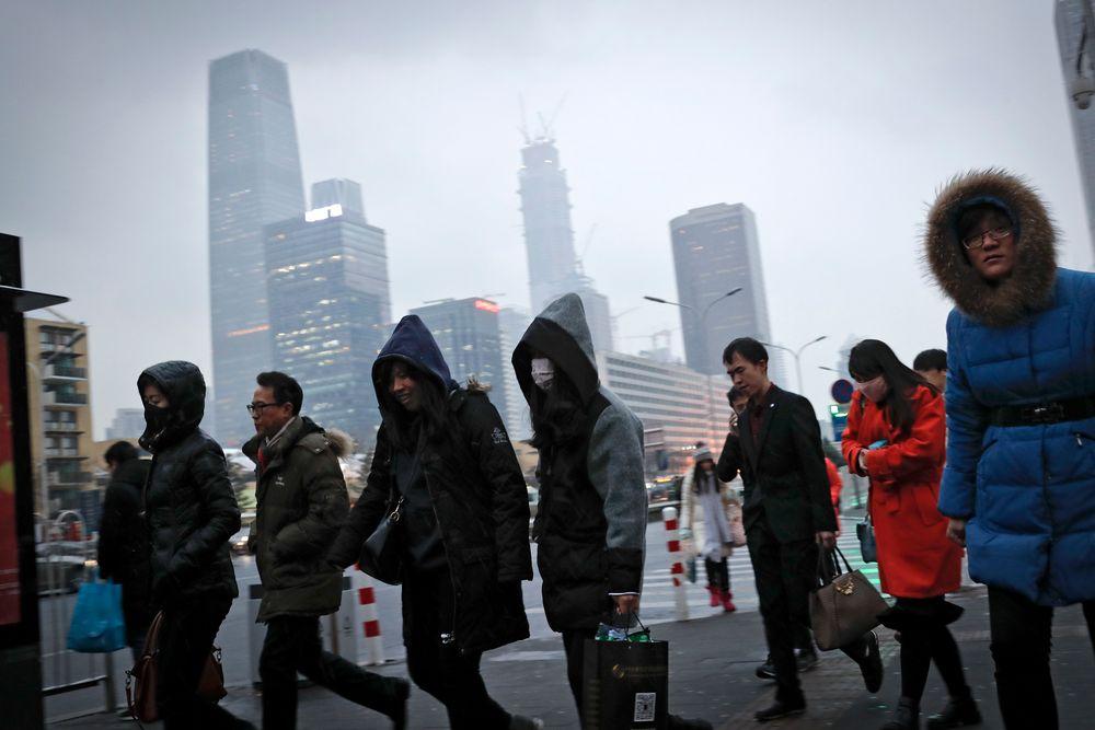 Lufta i Kinas hovedstad Beijing er  fortsatt sterkt forurenset, til tross for at myndighetene nå har stengt ned det siste av byens store kullkraftverk og i stedet satser på gass.