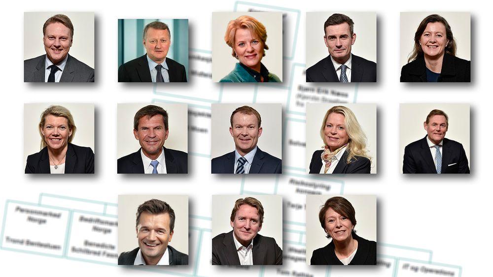 DNB har over 800 IT-ansatte, men ingen av dem sitter i konsernledelsen.