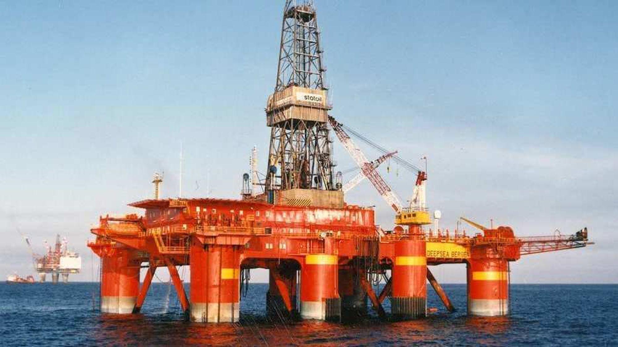 Gasslekkasjen skjedde i forbindelse med forberedelse til brønnoperasjon med riggen «Deepsea Bergen».