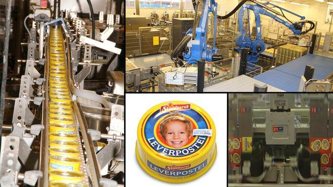 Da robotene overtok produksjonen av Stabburets leverpostei, ble produksjonen nesten doblet