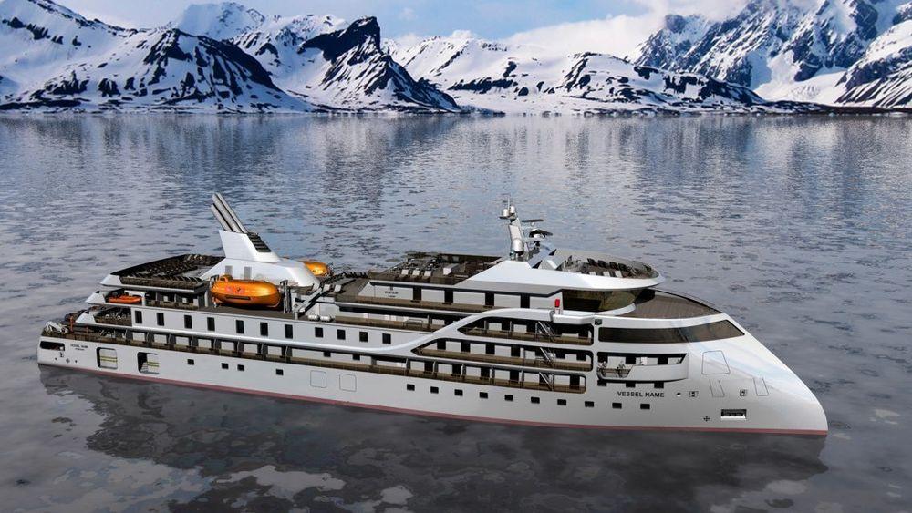 Sun Stone Ships vil bygge opp til 10 CX 103 cruiseskip med 80-95 lugarer og isklasse 1A.