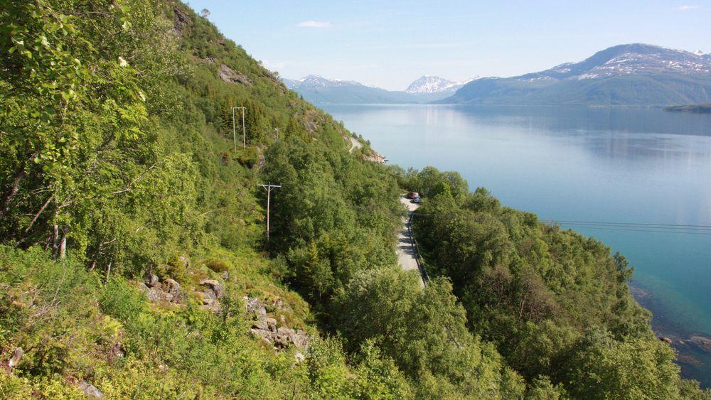 På grunn av manglende godkjenning må den planlagte oppgraderingen av fv. 848 på Rolla i Ibestad kommune tilbake til tegnebordet.