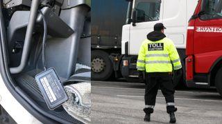 20 lastebilsjåfører tatt for utslippsjuks i løpet av en uke: – Bare toppen av isfjellet