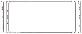Slik ser Note 8 ut, ifølge lekkasjer som dukket opp for en tid tilbake.