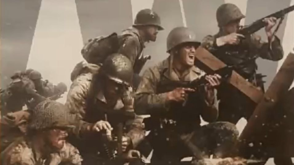 Call of Duty WWII skjermdump