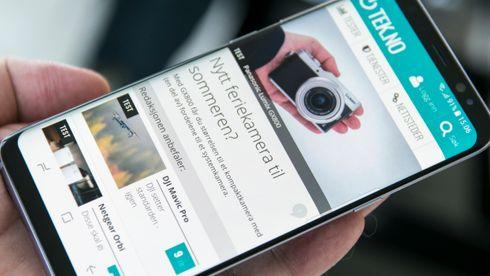 Vi har prøvd Samsung Galaxy S8
