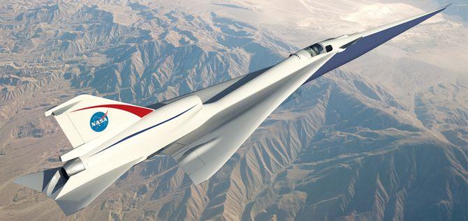 Omtrent slik kan Quesst-demonstrasjonsflyet bli når det tar til vingene, etter planen i 2020.