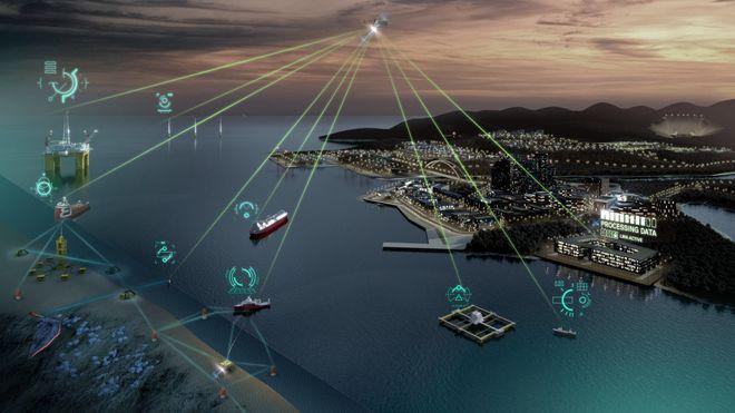 Nå skal alle data fra skip, offshore og industri opp i skyen