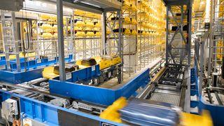 Roboter overtar bagasjen på Gardermoen