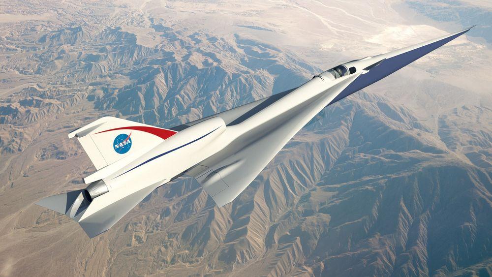Omtrent slik kan Quesst-demonstrasjonsflyet bli når det tar til vingene om cirka tre år.