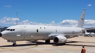 Australia mottok det første av tolv bestilte P-8A i fjor høst.