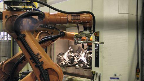 Raufoss Technology er en mønsterbedrift og satser tungt på digitalisering og robotisering.