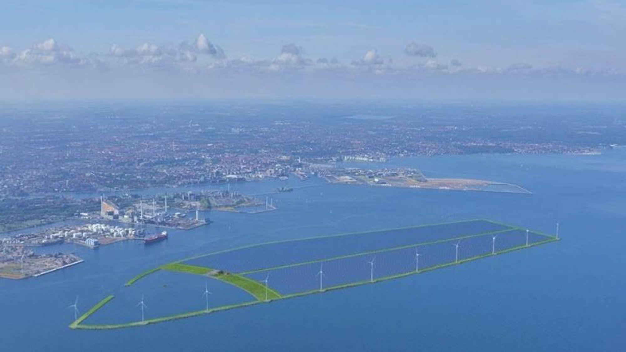 Utviklingsselskapet European Energy mener at fremtidens fjernvarme bør være et produkt av overskuddsvarme fra sol og vind via kjempestore varmelagre. Et prosjekt er underveis i Esbjerg i Danmark.