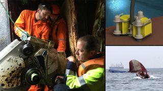 Ubåtvraket U864 utløste teknologien. Nå skal den få opp 500 tonn tungolje på 70 meters dyp i verdens mest trafikkerte skipsled