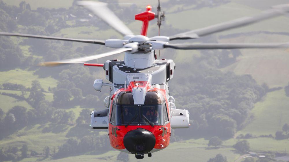 De første to norske AW101-612-rednignshelikoptrene skulle nå vært operative, men nå tør ikke regjeringen si når de skal tas i bruk
