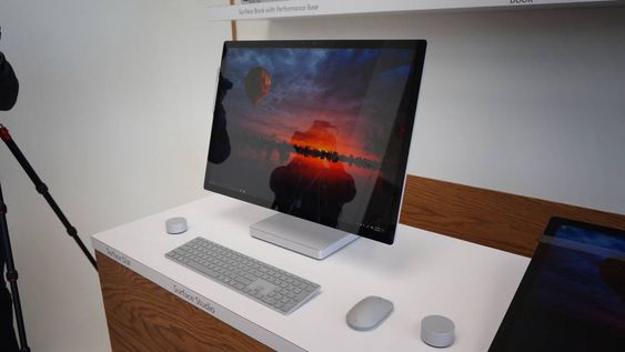 Surface Studio er en farlig konkurrent til Apples iMac-er.
