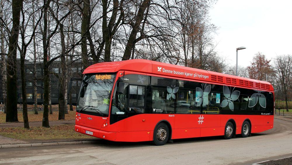Hydrogenbusser har vært under uttesting i Oslo siden 2012.
