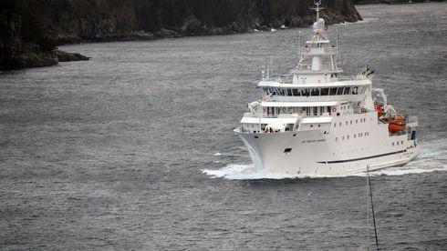 Når forskningsskipet forlater landet, kan det gå 20-25 år til Dr. Fridtjof Nansen blir å se i Norge
