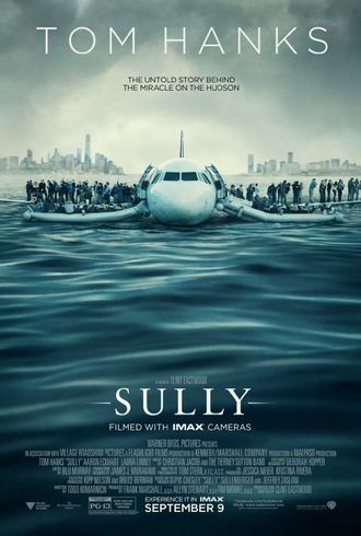 Filmen «Sully» hadde premiere 9. september 2016.
