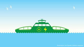 Skal utvikle verdens første hydrogenferge: Tre rederier kvalifisert