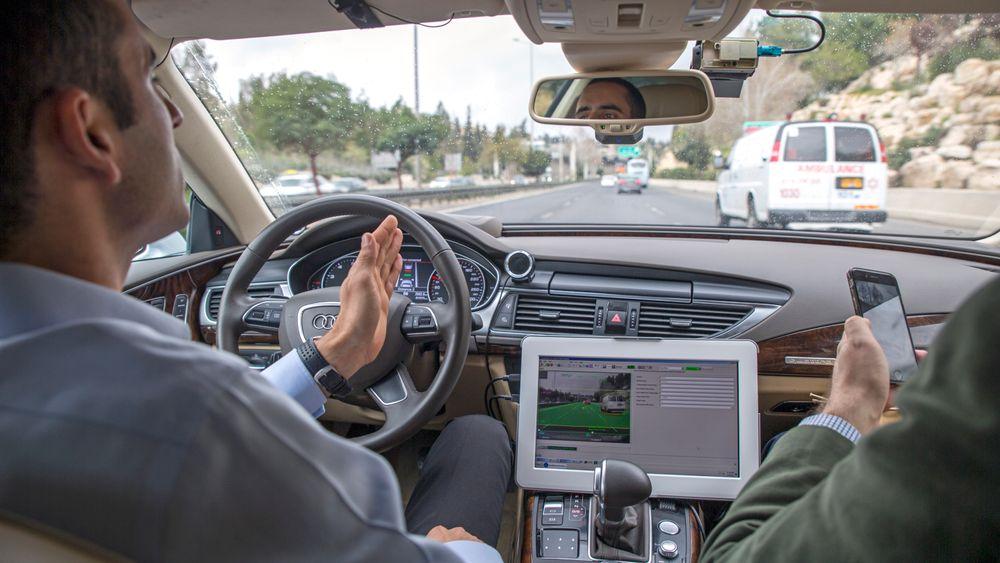 TU var tidligere i år på besøk hos Mobileye i Israel. Da fikk vi demonstrert teknologien som gjør bilen selvkjørende.