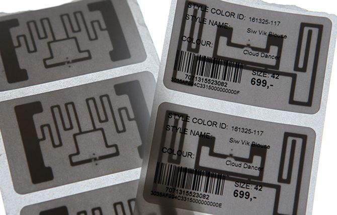 Slik kan en RFID-brikke se ut.